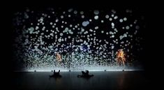 Dance Performance with Interactive Digital Projection  , - ,     Pixel ... ,  #Dance #digitalprojection #interactive