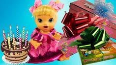 Посмотреть видео «Куклы пупсики Бэби Элайв День рождение Сони Открываем подарки Маша и Медведь Принцессы Пони», загруженное New Day на Dailymotion.
