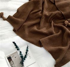 28a841f8d242 Enipate Nordic Style Acrylic Tassel Blanket Knitted Sofa Bed Throw Blanket  Handmade Quilt Travel Plane Bedspread