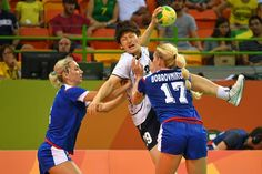 DAY 1:  Women's Handball - Korea vs Russia
