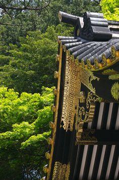 Toshogu in green, Tochigi, Japan