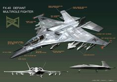 FX-40 Defiant-class high-atmospheric fighter