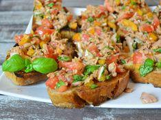 Mit Thunfisch kann man so viele leckere Rezepte zaubern - wie wäre es da mal mit einem Thunfisch-Bruschetta? Geht schnell und schmeckt!