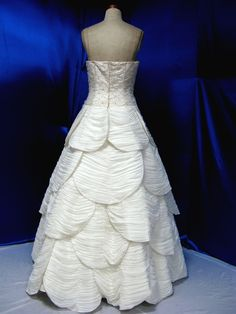 Wedding Dress Fantasy - Vintage Inspired Wedding Dress - Available in Every Color 17, $739.00 (http://www.weddingdressfantasy.com/vintage-inspired-wedding-dress-available-in-every-color-17/)