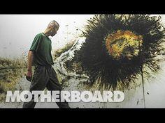 Cai Guo-Qiang Paints with Exploding Gunpowder - YouTube