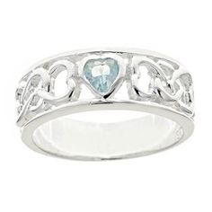 Birthstone Purity Ring - Purity Rings - Rings | Cornerstone Jewelry