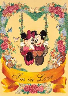 Disney's Mickey & Minnie :) Disney Mickey Mouse, Arte Do Mickey Mouse, Mickey Mouse Y Amigos, Retro Disney, Mickey And Minnie Love, Mickey Mouse And Friends, Vintage Disney, Disney Dream, Disney Love