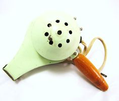 Vintage Hair Dryer Mint Green Retro Beauty Shop Salon by DDbuttons