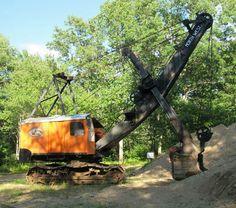 Mining Equipment, Heavy Equipment, Earth Moving Equipment, Hydraulic Excavator, Vintage Tractors, Heavy Machinery, Shovel, Model Trains, Construction