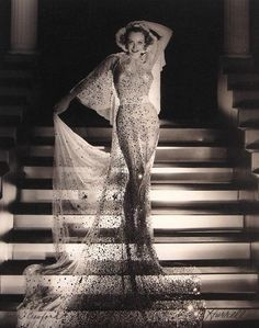 1933. Publicity for 'Dancing Lady' by Hurrell.