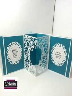 Image result for Die'sire Create-A-Card Cut and Emboss Dies - Classic Floral Frame