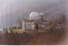 Aviano,  Italy - chrome dome basilica, Il Santuario Della Madonna del Monte. My favorite place to hike up to!!
