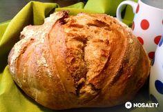 Lusta kenyér bármikor | NOSALTY Hungarian Recipes, Hungarian Food, Challah, Baked Potato, Bread Recipes, Cookies, Baking, Ethnic Recipes, Advent