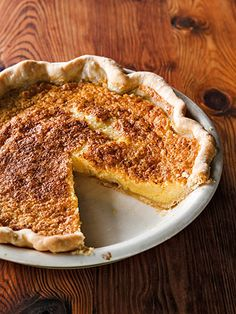 Chess Pie #countryliving #pies #recipes