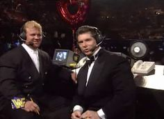 WWF / WWE Royal Rumble 1996: Vince McMahon and Mr. Perfect were our commentators for the show
