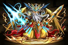 Zeus Descended! - Puzzle & Dragons Wiki - Wikia