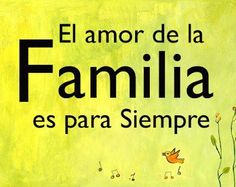 El #Amor de la #Familia es para siempre... #Citas #Frases @Candidman