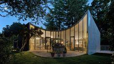 Alejandro Valdivieso's Casa Aljibe has curved lounge built around a well