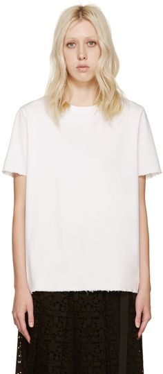 Acne Studios - White Cotton Isidora T-Shirt