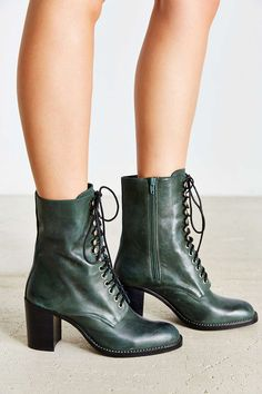 3113f8c05fa Jeffrey Campbell Caspian Lace-Up Boot - Urban Outfitters Lace Up Boots