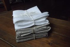 linen napkins, 3 colors