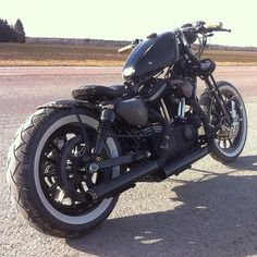Sportster 883 by fast sally customs.