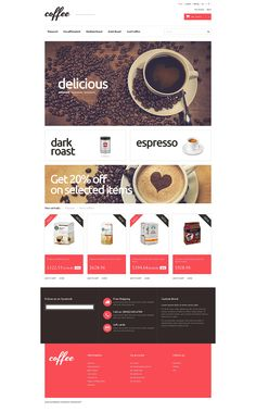 12+ Best Coffee Supplier Store Ecommerce Store PrestaShop Themes - Coffee Maniacs