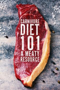 Curious about the carnivore diet? Wanna know what it entails? We have the deets and the scoop on what it's all about. The good, the bad and the ugly. Weight Loss Meals, Zero Carb Diet, No Carb Diets, Diet Recipes, Snack Recipes, Meat Diet, Fermentation Recipes, Workout Diet Plan, Extreme Diet