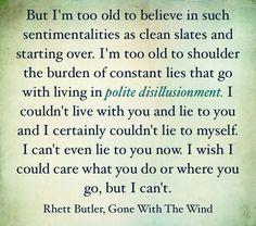 Rhett Butler, Gone with the Wind