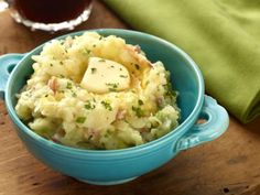 Colcannon with potatoes and cabbage.  Just make sure your bacon/ham is gluten free to make this Celiac friendly.