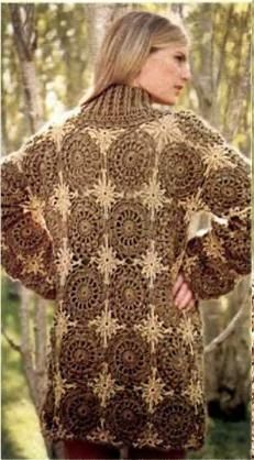 Crochet Patterns to Try: Free Crochet Pattern for Stunning Fall Winter Coat