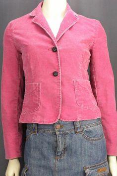 Gap Pink Corduroy Blazer