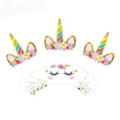 These top selling unicorn cupcake wrappers are sure to be a hit at your unicorn-themed birthday party or wedding. Unicorn Cupcakes Cake, Unicorn Cake Topper, Cupcake Cakes, Unicorn Themed Birthday Party, Happy Birthday, Unicorn Party Supplies, Cupcake Wrappers, Cupcake Liners, Party In A Box