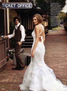 UTOPIA Photographer LISA LOFTUS for BRIDES Magazine. www.utopianyc.com.