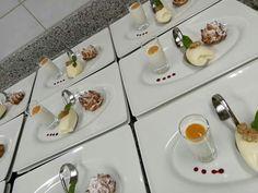 #dessertkreation #dinner #mousse # profiteroles #pannacotta #kokos