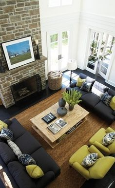 Why You Should Arrange Two Identical Sofas Opposite Of Each Other. Living  Room Decorating IdeasLiving ...
