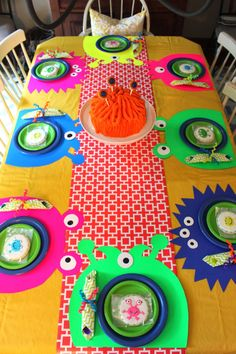 Silly Monster Birthday Party - Love party favors people will actually be able to use! Adorable placemats Silly Monster Birthday Party - Love party favors people will actually be able to use! Little Monster Birthday, Monster 1st Birthdays, Monster Birthday Parties, 1st Boy Birthday, 3rd Birthday Parties, Birthday Party Decorations, First Birthdays, Birthday Ideas, Birthday Crafts