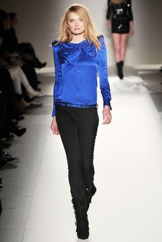 Balmain Fall 2009 Ready-to-Wear Fashion Show - Lily Donaldson