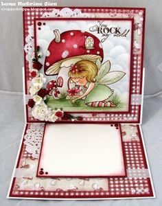 scrappeskreppe.blogspot.com, vilda stamp
