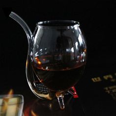 Safe and Creative Novelty Smart Wine Glass Cup