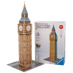 Inspiring hours of captivating fun, this Big Ben puzzle challenges the whole family to complete its construction. Not for children under 3 years Jigsaw Puzzles For Kids, 3d Puzzles, Science Gifts, Christmas Gifts For Kids, Christmas Decor, Christmas Ideas, Educational Toys, Big Ben, Board Games