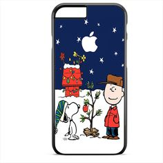 Snoopy And Charlie Brown Christmas Lights Apple TATUM-9747 Apple Phonecase Cover For Iphone SE Case