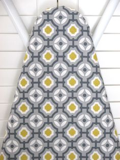 Standard Ironing Board Cover In Grey Gray By PixiilaneBoutique