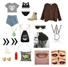 Untitled #84 by scout-erin on Polyvore featuring polyvore, fashion, style, Billabong, WithChic, Calvin Klein Underwear, Timberland, Topshop, Eddie Borgo, Bling Jewelry, ZeroUV, BUFF and clothing