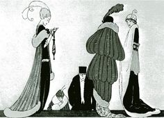 decadent Art Deco Fashion