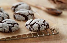 Cocoa Crinkle Cookies