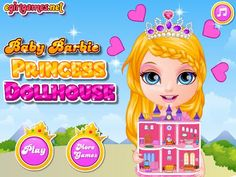 Here You Can Play This Game Online For Free In Full Screen Mode In Your Browser For Free Without Any Annoying Ad Barbie Games Doll House Decorating