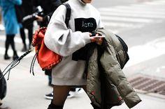 Street style from New York fashion week autumn/winter '16/'17
