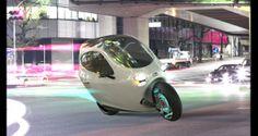 Lit Motors C1, dos ruedas con la estabilidad y protección de un turismo