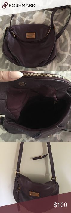 Marc by Marc Jacobs dark burgundy cross body purse Marc by Marc Jacobs dark burgundy cross body messenger back. Medium size. Like new. Very comfy and very spacious Marc By Marc Jacobs Bags Crossbody Bags
